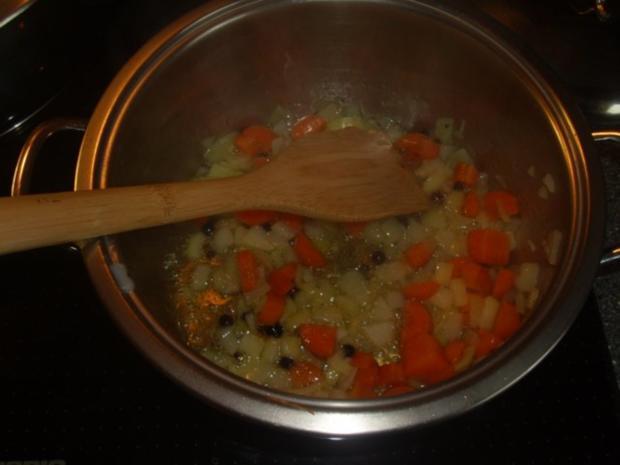 Eisbein gebacken mit Erbspüree - Rezept - Bild Nr. 3