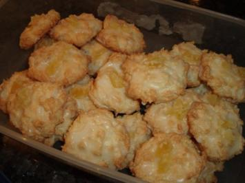 Weihnachtsplätzchen: Pina-Colada-Makronen - Rezept