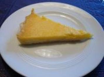Zitronen-Tarte - Rezept