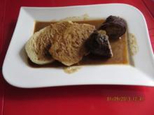 Kochen: Rinderroulade mit Böhmischen Semmelknödeln - Rezept