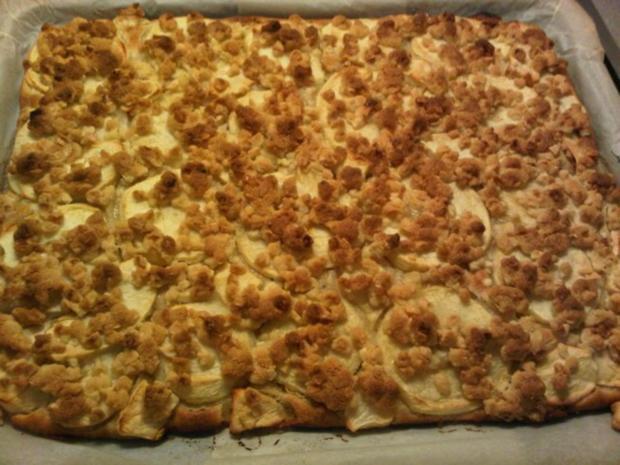 Apfel-Streuselkuchen - Rezept