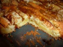 Glasierter Apfelkucken - Rezept