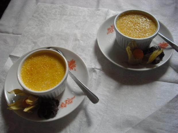 Créme Brûlèe mit weißer Schokolade und Tonkabohne - Rezept - Bild Nr. 6