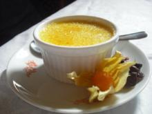 Créme Brûlèe mit weißer Schokolade und Tonkabohne - Rezept