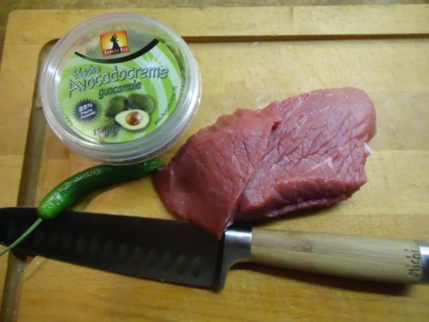 Rinder-Steak-Streifen in Avocado-Creme - Rezept - Bild Nr. 2