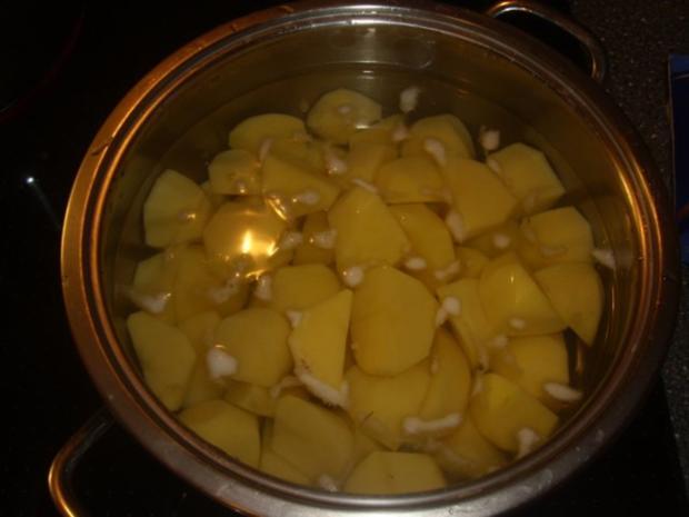 Buletten - Rosenkohl und Kartoffelstampf - Rezept - Bild Nr. 2