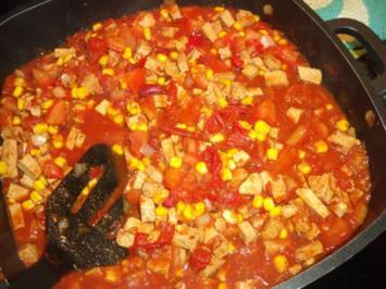 Chili con Tofu; die vegetarische Version des mexikanischen Fleisch-Klassikers - Rezept