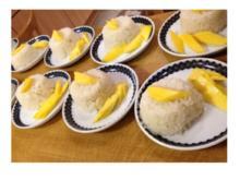 Klebreis mit Kokosmilch und Thai-Mango - Rezept