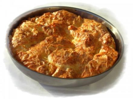 Bulgarische Banitza- Yufkablätterteig mit Schafskäse - Rezept