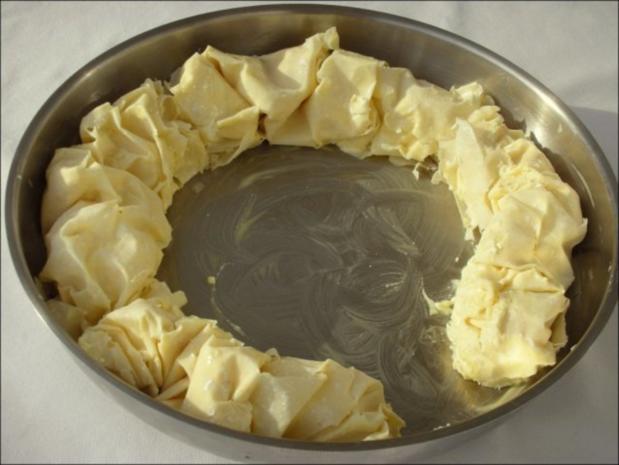 Bulgarische Banitza- Yufkablätterteig mit Schafskäse - Rezept - Bild Nr. 12