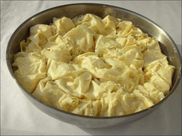 Bulgarische Banitza- Yufkablätterteig mit Schafskäse - Rezept - Bild Nr. 13
