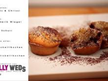 Heidelbeer- Muffins mit weißer Schokolade - Rezept