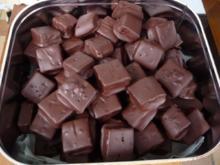 Plätzchen & Kekse : Dominosteine : Lebkuchen - Schokowürfel ...Rz frei Schnautze - Rezept