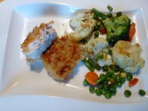 Ne würzige Kruste für Fisch - Rezept