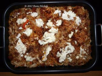 Jaromakohl aus dem Ofen mit Salsicce und überbackenem Ziegenkäse - Rezept