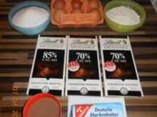 Schokoladensouffle - Rezept