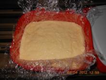 Panierte Puddingswürfel - Rezept