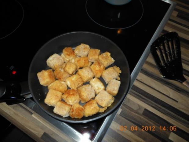 Panierte Puddingswürfel - Rezept - Bild Nr. 3