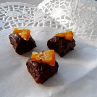 Orangen-Walnuss-Marzipanpralinen - Rezept
