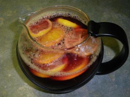 alkoholfreier Glühwein / Punch - Rezept