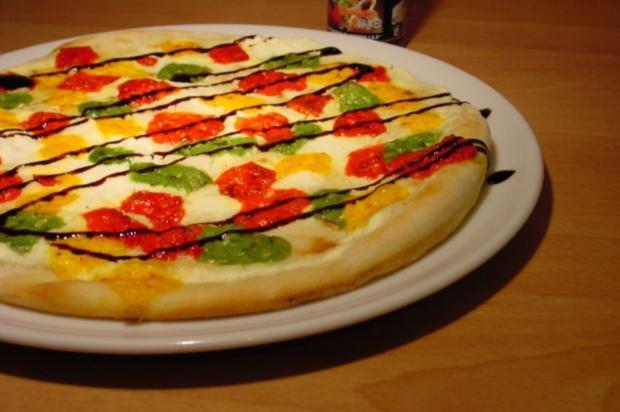 Konfetti-Pizza - Rezept