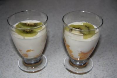 weihnachtsdessert   cremiges Panna-Cotta mit spekulatius - Rezept