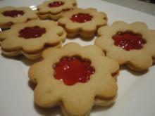 feine Mürbteig Kekse - Rezept