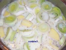 Kochen: Kartoffel-Porree-Cremesuppe - Rezept