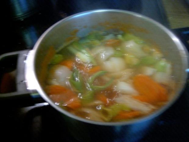 Gemüsebrühe salzarm, fettarm und kalorienarm - Rezept - Bild Nr. 2