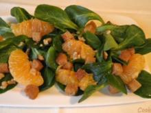 Feldsalat mit Glühwein - Dressing ... - Rezept