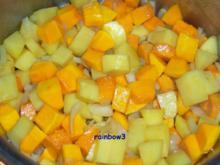 Kochen: Kürbis-Kartoffel-Suppe - Rezept