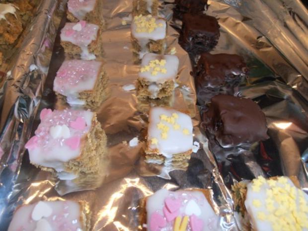 *Varianten von kleinen Lebkuchenwürfeln* - Rezept - Bild Nr. 7