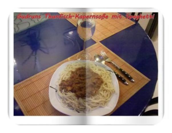 Fisch: Kapern-Thunfischsoße mit Spaghetti - Rezept - Bild Nr. 12