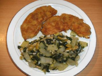 Beilage: Mangold-Gemüse, würzig - Rezept