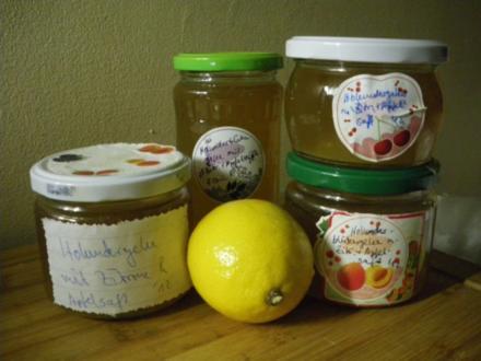 Holunderblüten-gelee - Rezept