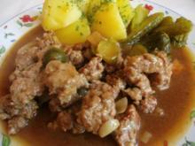 Harzer Gehacktesstippe - Rezept