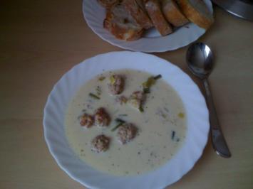 Leo´s Käse - Lauch - Cremesuppe - Rezept