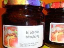 Bratapfel Mischung - Rezept