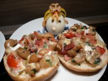 Pizza-Brötchen & Schnucki & Putzzi - Rezept