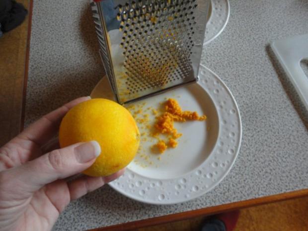 Orangen Zucker oder Zitronen Zucker - Rezept - Bild Nr. 2