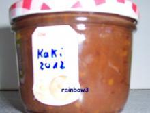 Einmachen: Kaki-Marmelade - Rezept