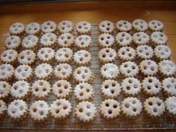 Weihnachtsplätzchen : Spitzbuben - Rezept
