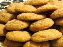 Weihnachtsbäckerei - Zimtkekse / Zimtplätzchen - Rezept