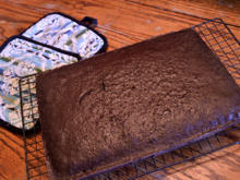 Einfacher Lebkuchen vom Blech - Rezept - Bild Nr. 2