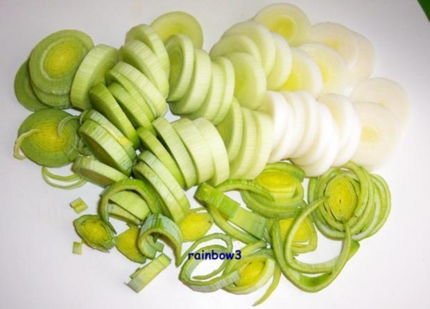 Kochen: Porree-Kohlrabi-Suppe - Rezept - Bild Nr. 2