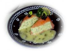Lachsmousse mit Kapernsauce - Rezept