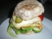 Hamburger , Cheeseburger selber gemacht - Rezept