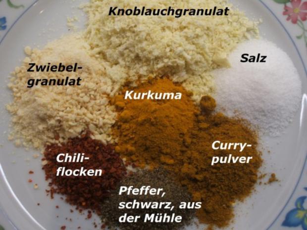 Gewürzmischungen: Indische Gewürzmischung - Rezept