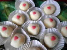 Pralinen : Weiße Schokolade für Damen - Rezept