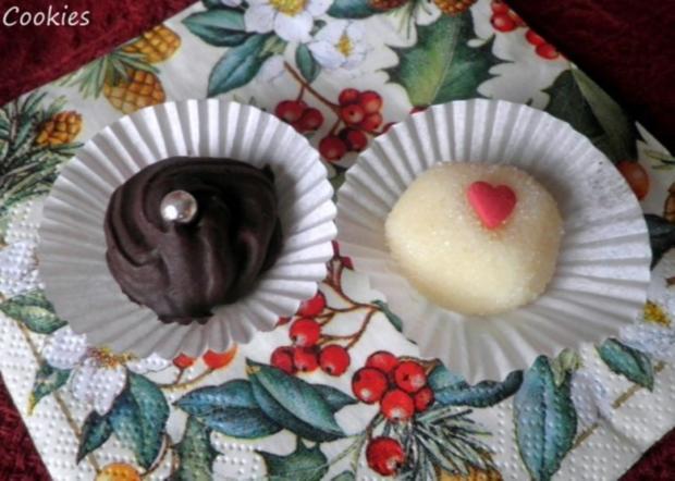 Pralinen : Weiße Schokolade für Damen - Rezept - Bild Nr. 3